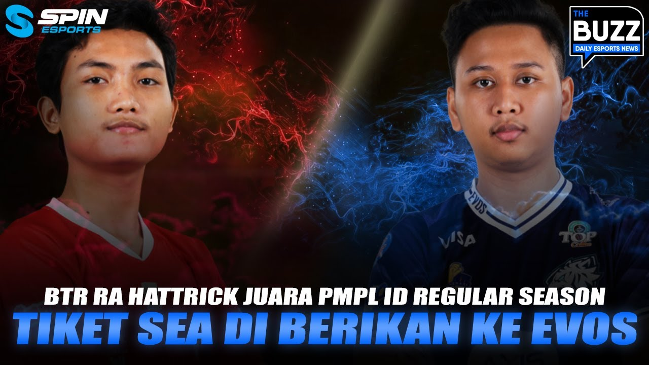 GOAL UTAMA BTR RYZEN SETELAH JUARA PMPL S3 REGULAR SEASON! EVOS REBORN MASUK SEA? - THE BUZZ