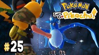 Pokemon Let's Go Pikachu Part 25 LEGENDARY POKEMON ARTICUNO Walkthrough Gameplay