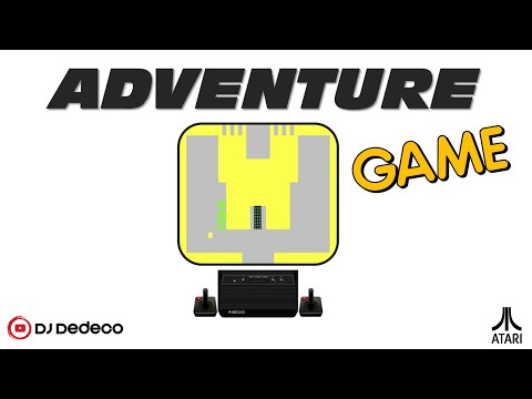 Adventure 1980 Atari, Warren Robinett   Sears CX2613