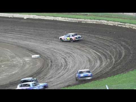 Eagle Raceway Hobby Stock Heat #3 - 7/22/2017