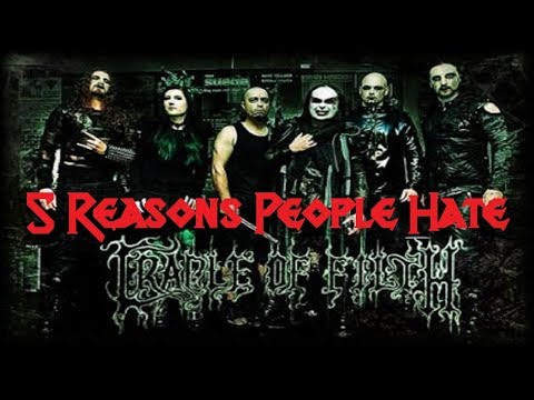 5 Reasons People Hate CRADLE OF FILTH
