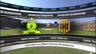 MTN8 Semi-final 2nd leg | Mamelodi Sundowns vs Cape Town City