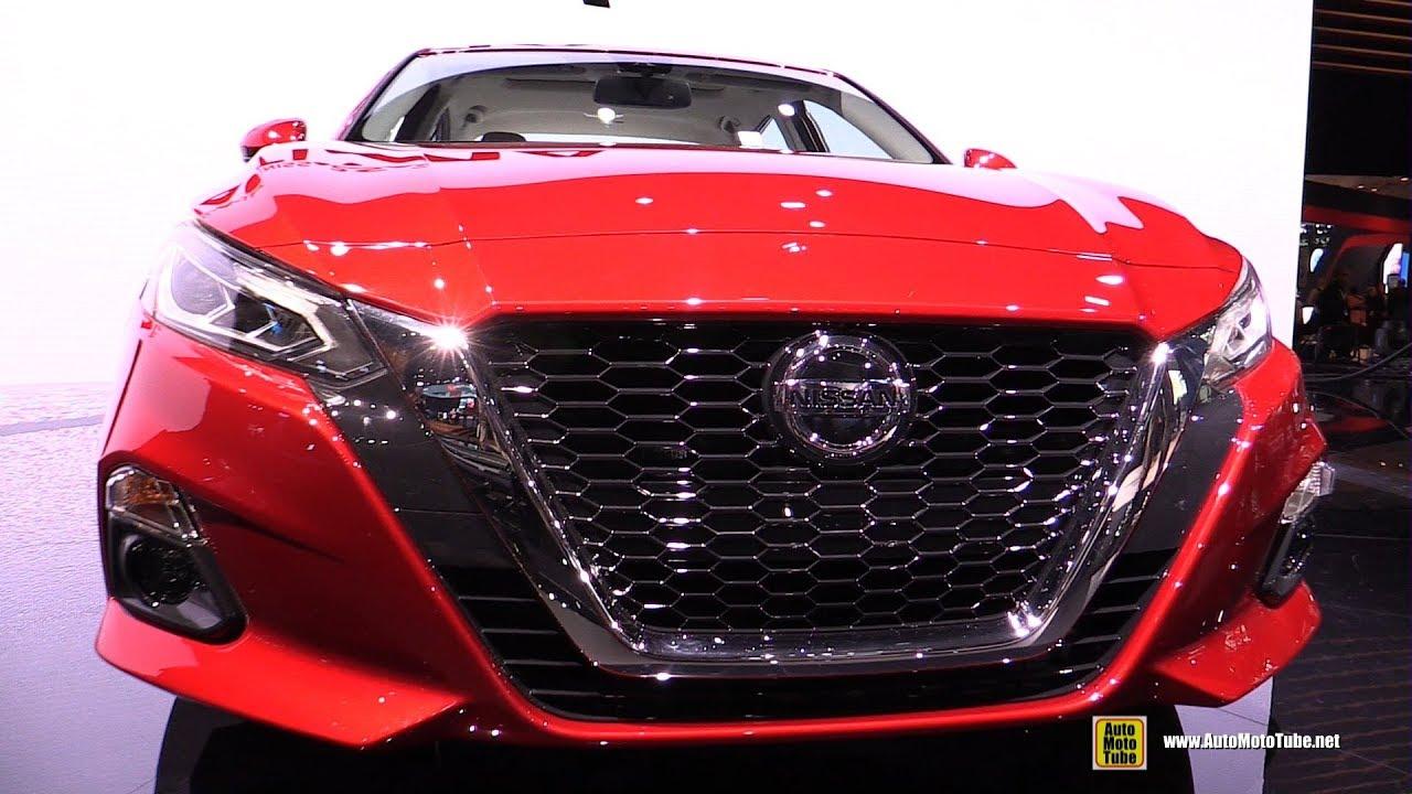 2019 Nissan Altima Platinum - Exterior and Interior ...