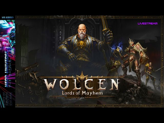 Wolcen Samstags Stream - Mage - Akt 1 Endboss Edric - Kingdom Under Fire II Giveaway [Deutsch] ARPG