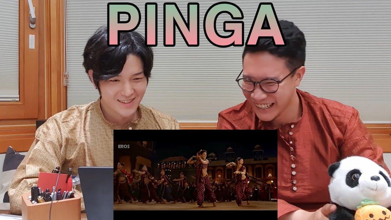 My Friend's First Time Watching Deepika and Priyanka | 'PINGA' Reaction | Bajirao Mastani