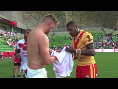 England v Papua New Guinea - Minutes you didn't see