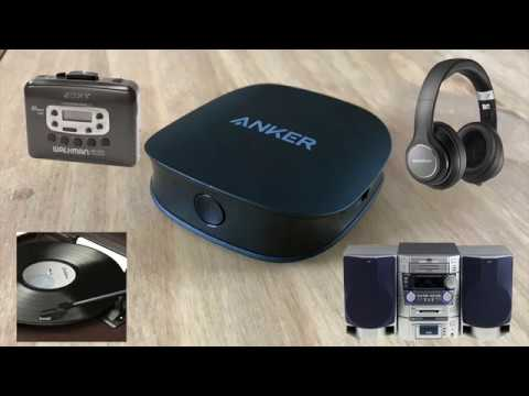 AptX TV Anker Soundsync A3341 Bluetooth 2-in-1 Transmitter And Receiver With 5