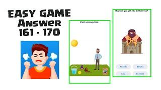 Easy Game Level 161 162 163 164 165 166 167 168 169 170 Walkthrough / Solution