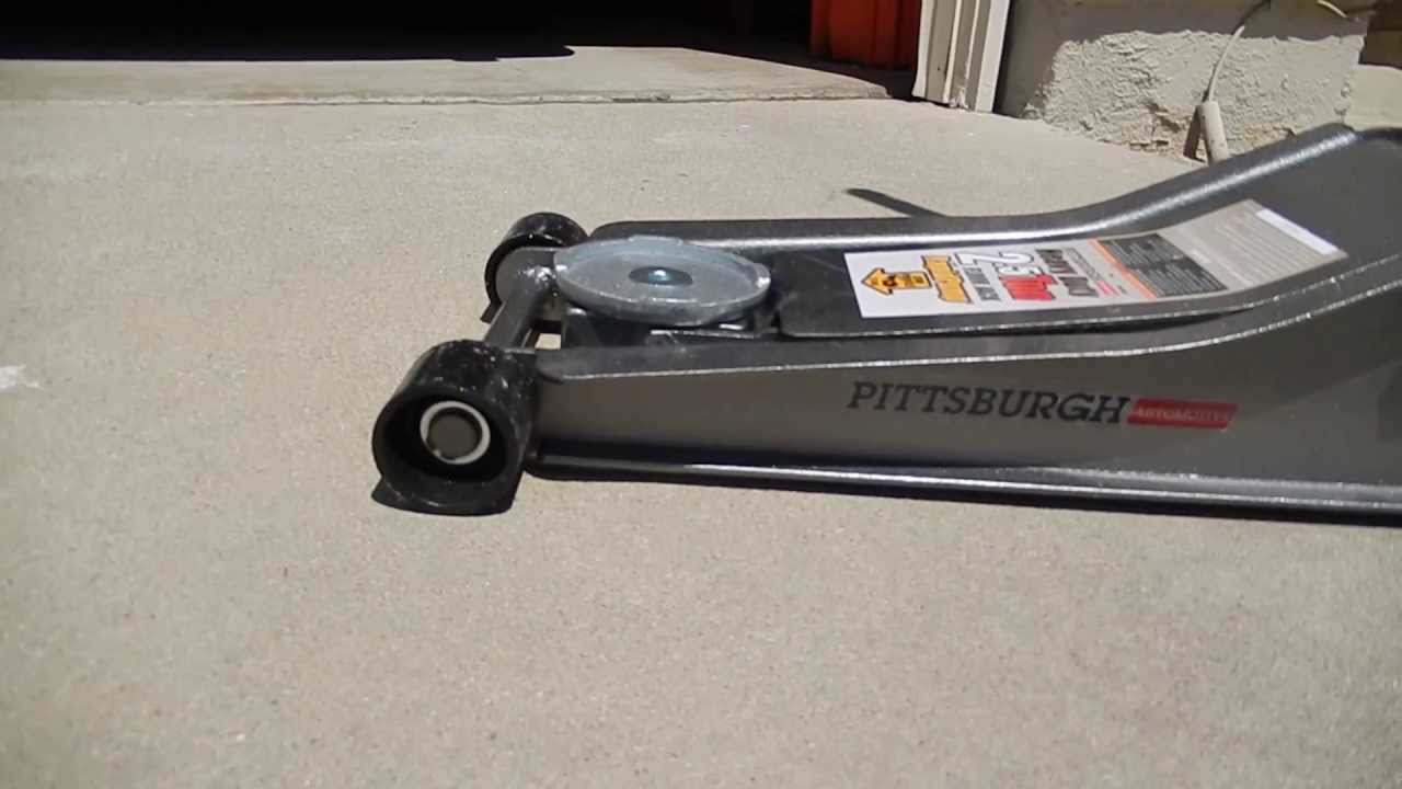 Harbor Freight Pittsburgh Heavy Duty Floor Jack 2 5 Ton Review
