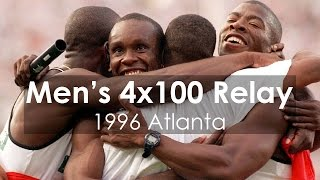Men's 4x100M Relay at 1996 Atlanta Olympic Games