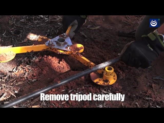 Drill & Drop · Ejemplo de instalación en campo (ENG)