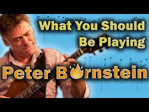 Peter Bernstein - How to be Musical in a Modal Context