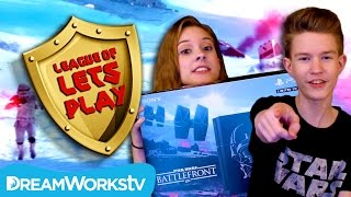 How to Win Star Wars BattleFront Survival on Hoth | LEAGUE OF LET'S PLAY