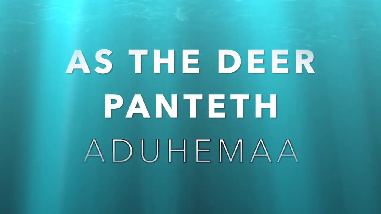 Download ADUHEMAA WITH PEACE- AS THE DEER (SPONTANIOUS)