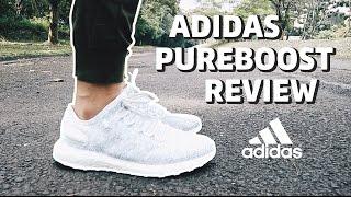 adidas pureboost review bahasa indonesia english subs