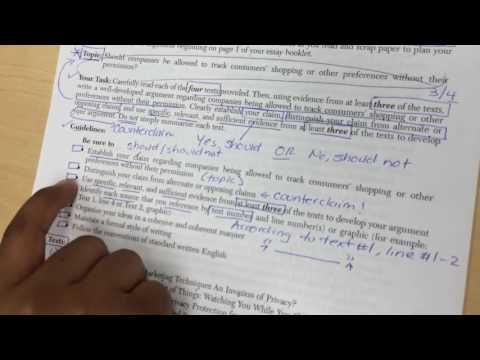 Narration Essay Directions