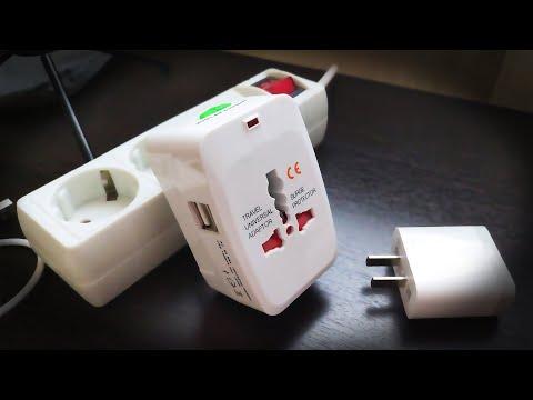 Переходник с китайских на наши розетки с двумя USB с алика (аще чотко) ☢ Всячки Железячки