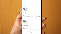 Fix All Google Assistant Errors (Not Working, No Reply, Error