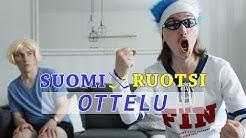 SUOMI - RUOTSI OTTELU