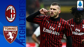 AC Milan 1-0 Torino | Rebic's First-Half Goal Secures 3-Points for Rossoneri | Serie A TIM