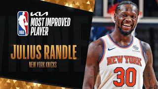 Julius Randle Wins Most Improved Player of The Year! #KiaMIP   2020-21 NBA Season
