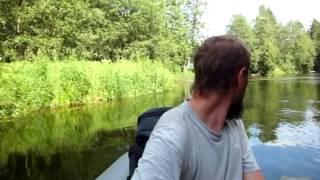 сплав по реке Оредеж