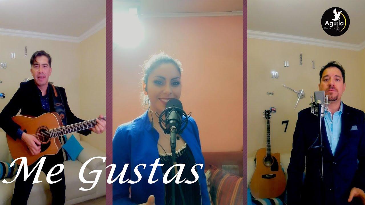 ME  GUSTAS - Los Flores de Yungay FT   Corazón Romántico - Música en cuarentena