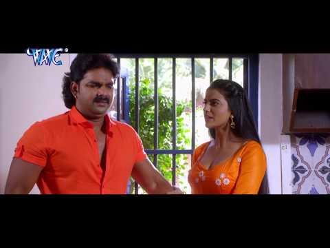 Pawan Singh - टाइट पसंद बा - Akshara Singh - Bhojpuri Comedy Scene - Comedy Scene From Bhojpuri Film