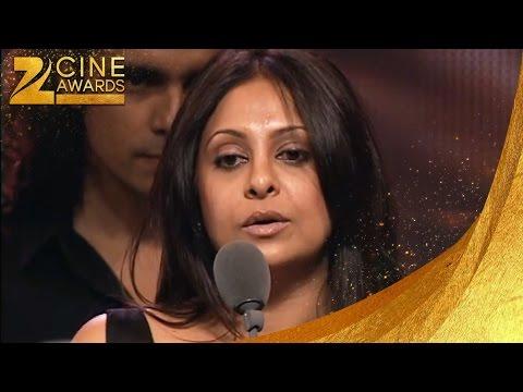 Zee Cine Awards 2008 Best Female Actor Critics Shefali Shah