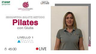 Ginnastica Salute Metodo Pilates - Livello 1 - 3 (Live)