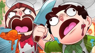 "My brother and I ""TRY"" to play OVERCOOKED 2! - (Part 1 Let"
