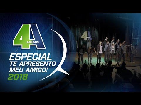 """4 AMIGOS - ESPECIAL COMPLETO """" TE APRESENTO MEU AMIGO"""" - FILA DE PIADAS #100 thumbnail"""