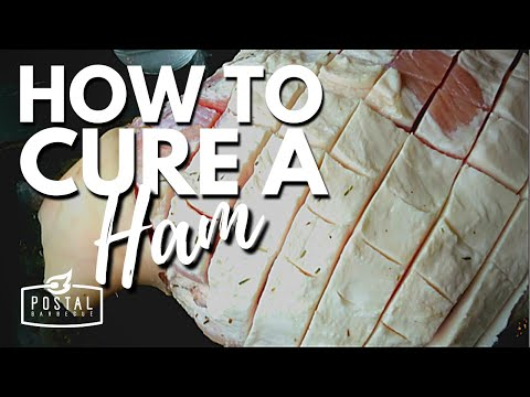 How To Cure Ham
