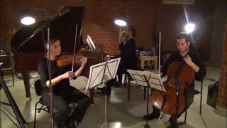 Felix Mendehlssohn Piano Trio No. 1 Op. 49 IV Trio Likya