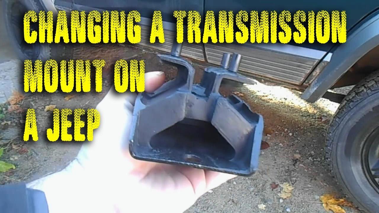 Jeep Wrangler TJ transmission mount