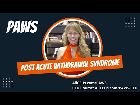 Post Acute Withdrawal Syndrome (PAWS) in Addiction Recovery