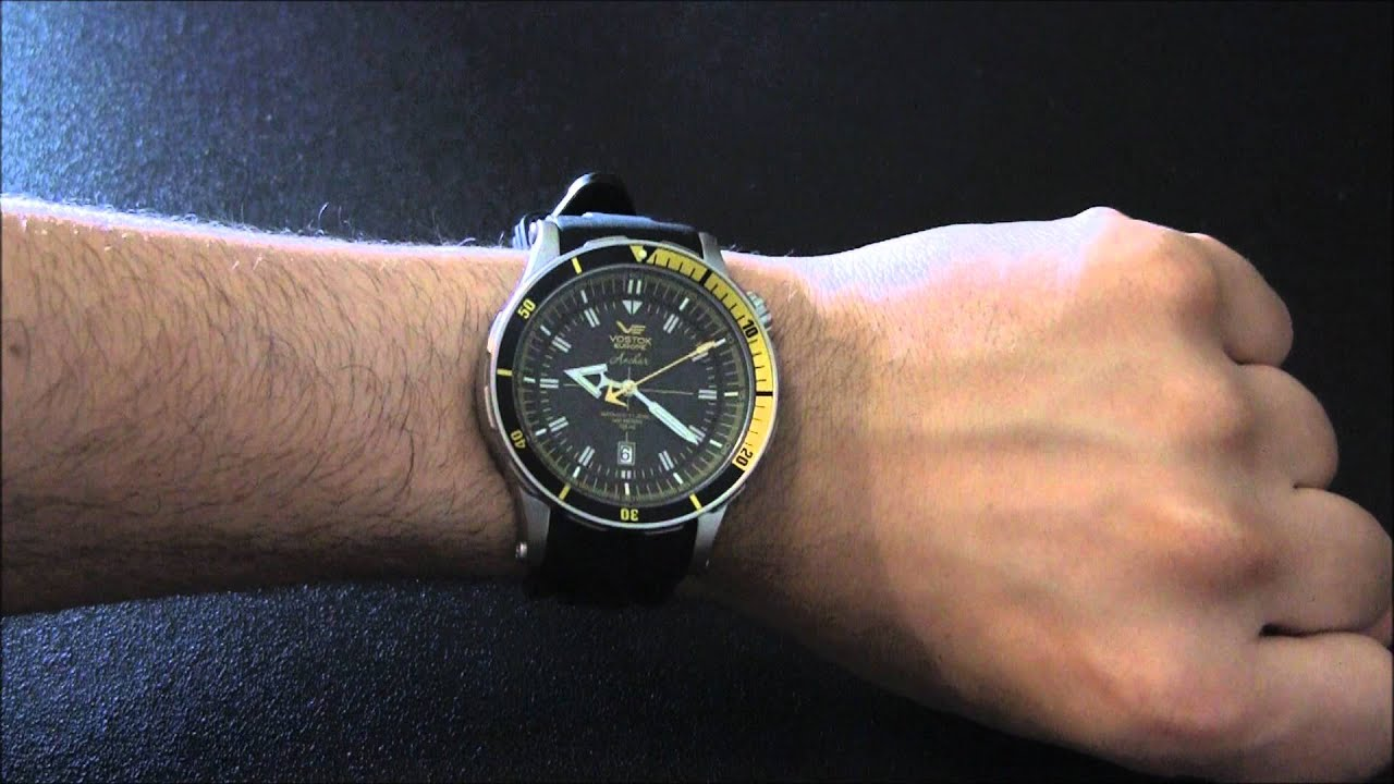 Vostok europe anchar watch review youtube for Vostok europe watches