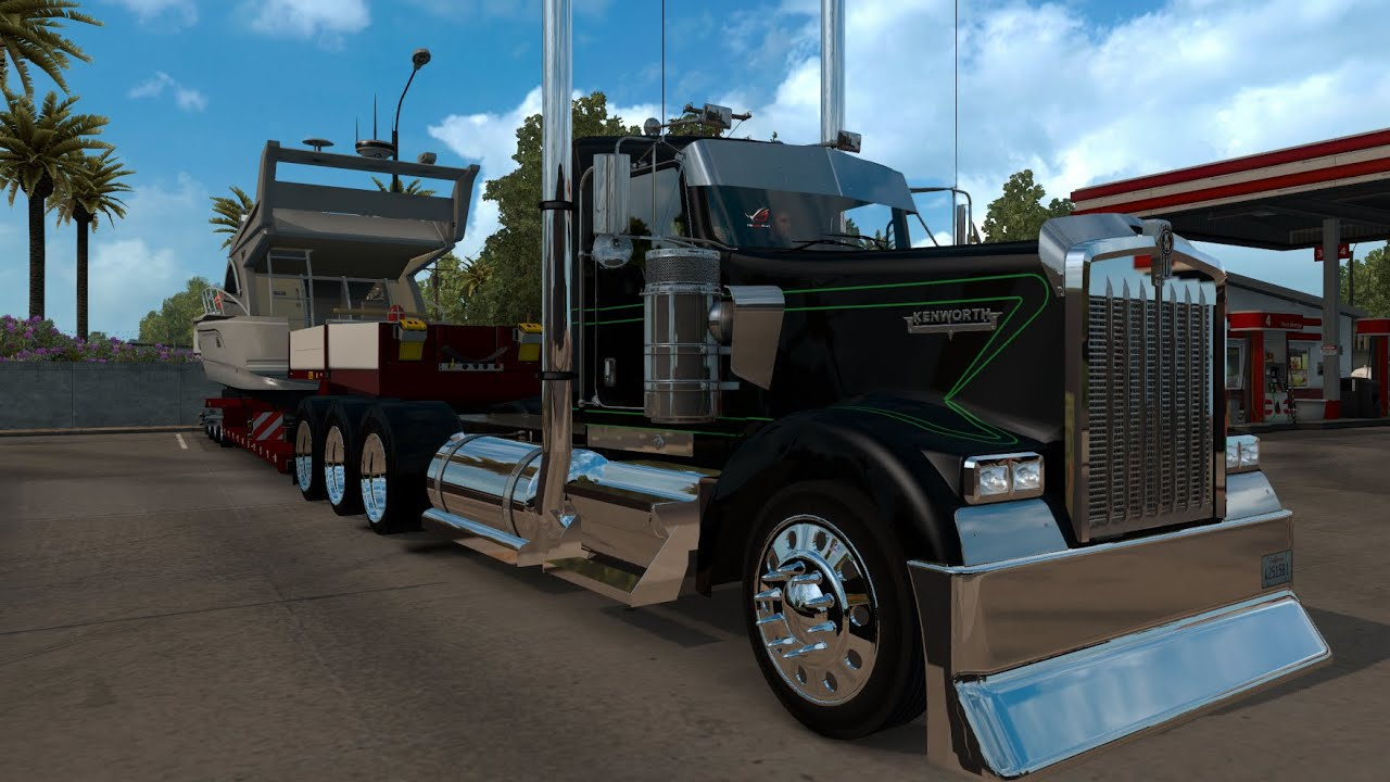 THE MOST TRICK OUT, TRI-AXLE W900 YET! - YouTube
