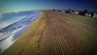 Amazing Flying Sunset Beach, California Helicam