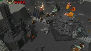 lego lord of the rings how to get sauron and the mouth of sauron  bonus level