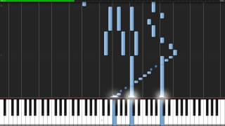 →unfinished→ - Accel World (Ending) [Piano Tutorial] (Synthesia) // Animenz