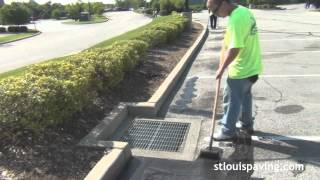 Crack Sealing, Sealing, and Striping - St Louis Paving Inc