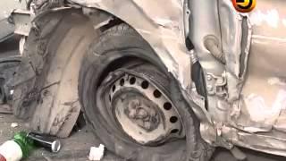 Перехват 19.04.12 Крупная авария на Кировской дамбе.