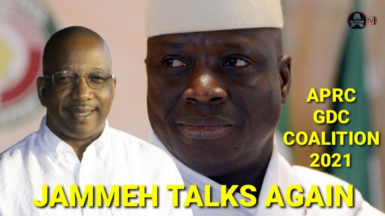 Yahya JAMMEH Talks Again - Coalition Talk With Mama Kandeh (GDC)