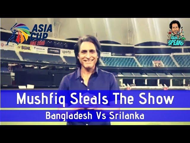 Mushfiq steals the show | Bangladesh V Srilanka | Asia Cup 2018 | Match 1