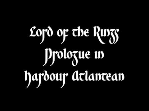 Lord of the Rings Prologue in Harbour Atlantean