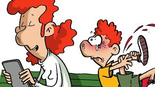 SOCIAL E RELAZIONI - TECNOLOGIA DEL FUTURO - Vignette animate divertenti