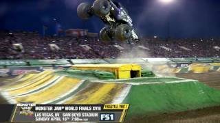 Monster Jam World Finals XVIII   Freestyle, Pt 1   Sunday, April 16 on FS1