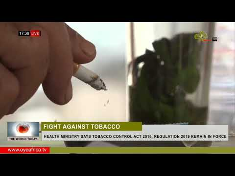 HEALTH MINISTRY SAYS TOBACCO CONTROL ACT 2016, REGULATION 2019 REMAIN IN FORCE