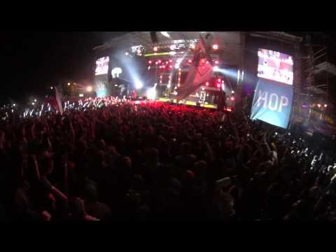 Joey Bada$$  - Christ Conscious / MAIN STAGE HIP HOP KEMP 2015 LIVE